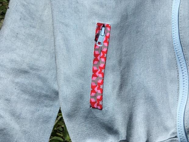 blouson jean poches