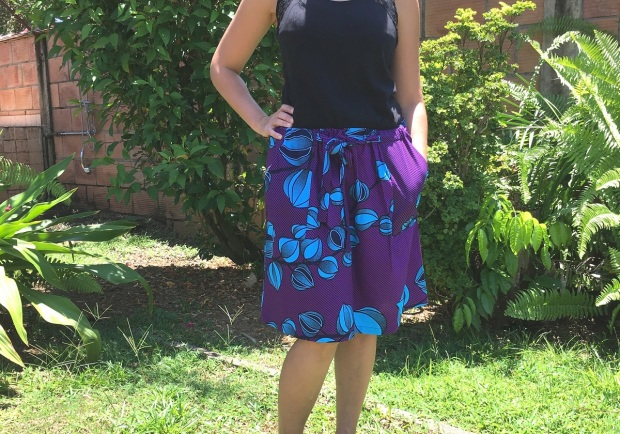 jupe bibiana skirt en wax 2